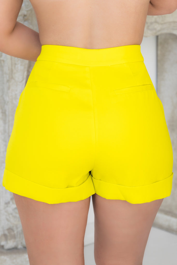 Sophisticated Yellow | Shorts