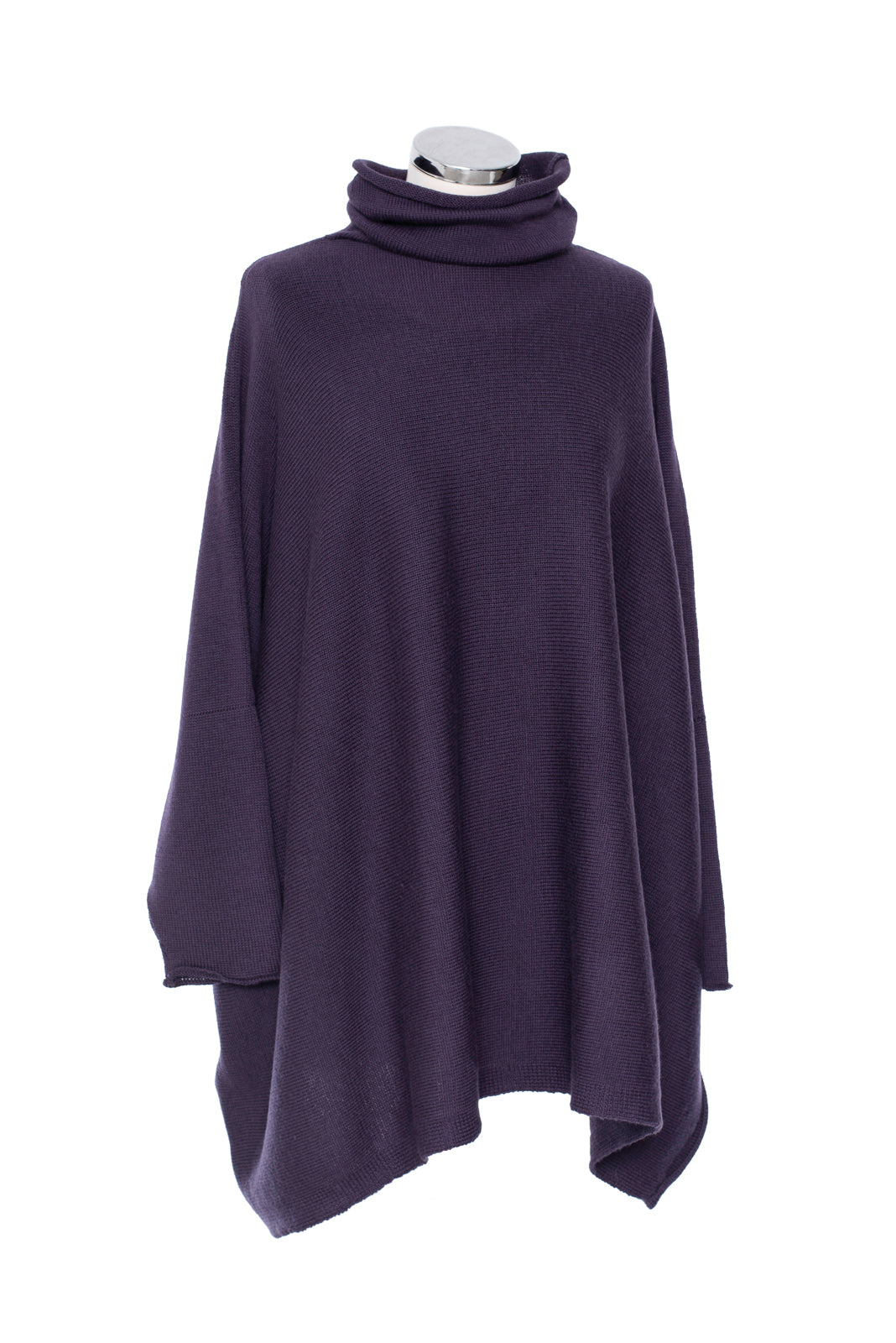Berry Soft Collar Tunic
