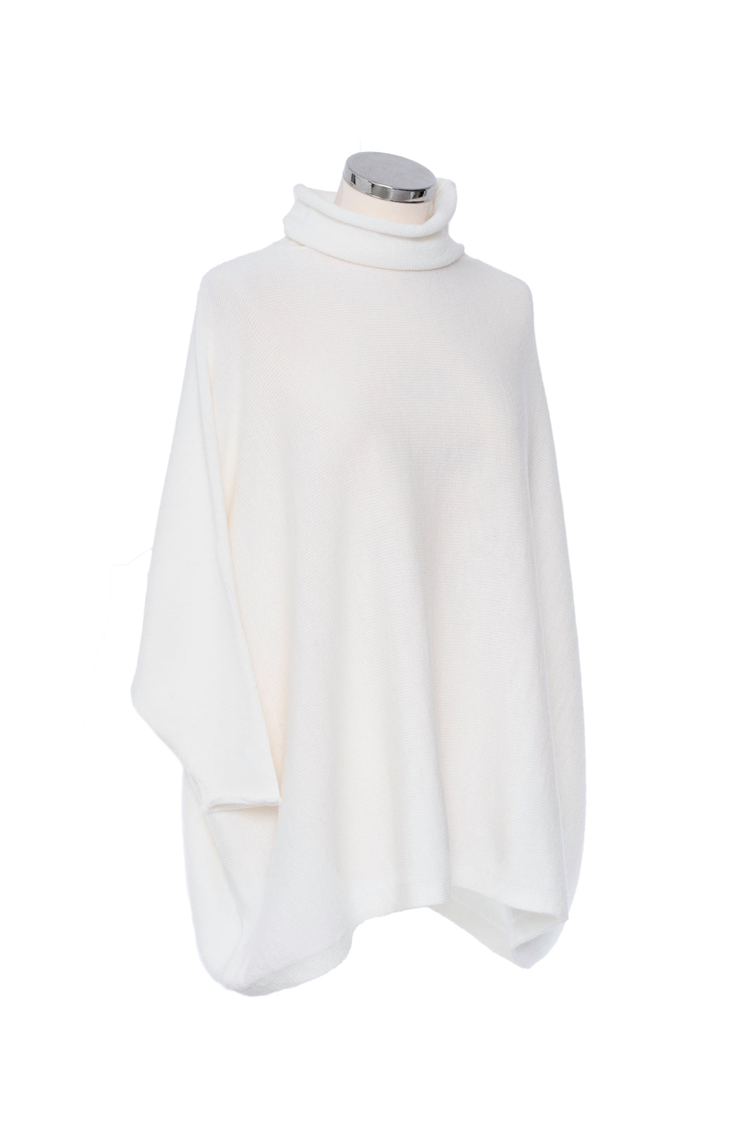 Winter White Soft Neck Tunic
