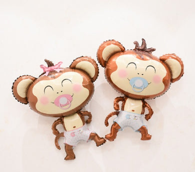 Monito Bebe Girl and Boy 50 Inch 98x82cm Nacimiento Newborn