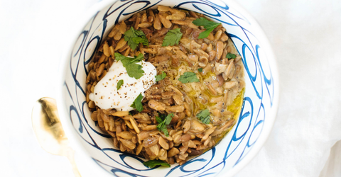 sunflower seeds risotto
