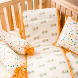Adriana Pineapple Cot Bedding Set