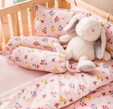 Cinnabun Rabbit Cot Bedding Set