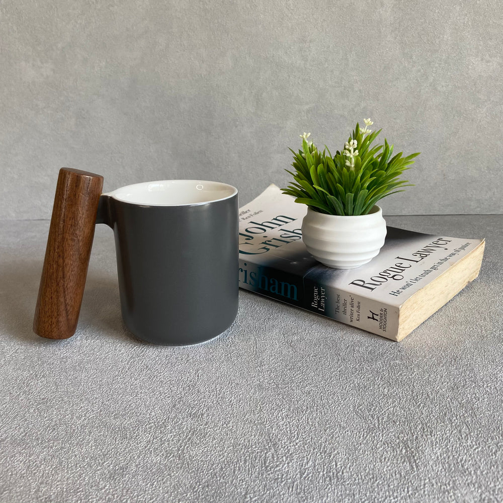 Sorrento Wooden Handle Mug