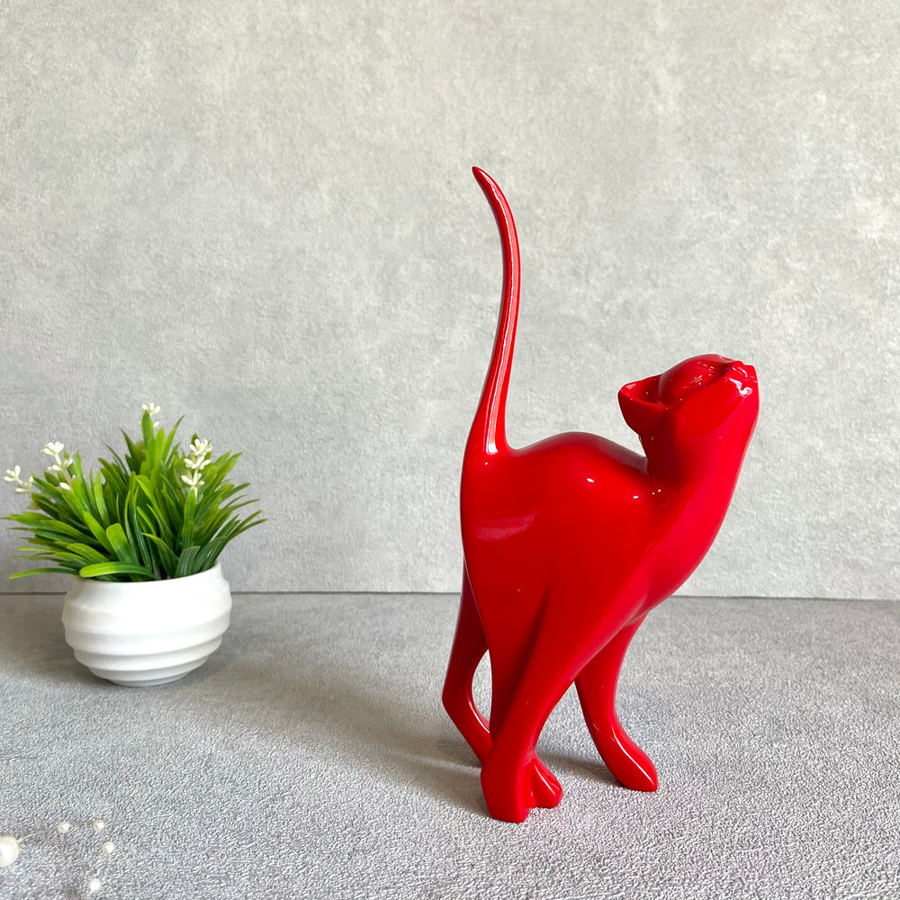 Whiskers Cat Sculpture