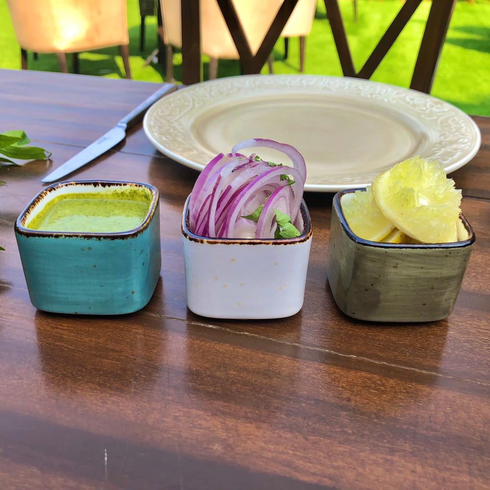 Marbella Cube Bowls (Set of 3)