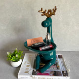Clive Teal Deer Accessory Holder