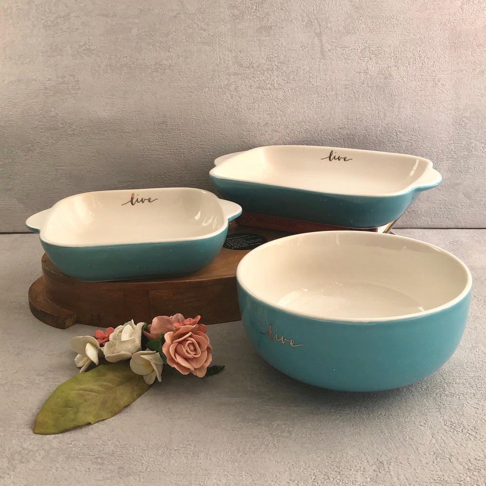 Waterford Ceramic Serving Bowl