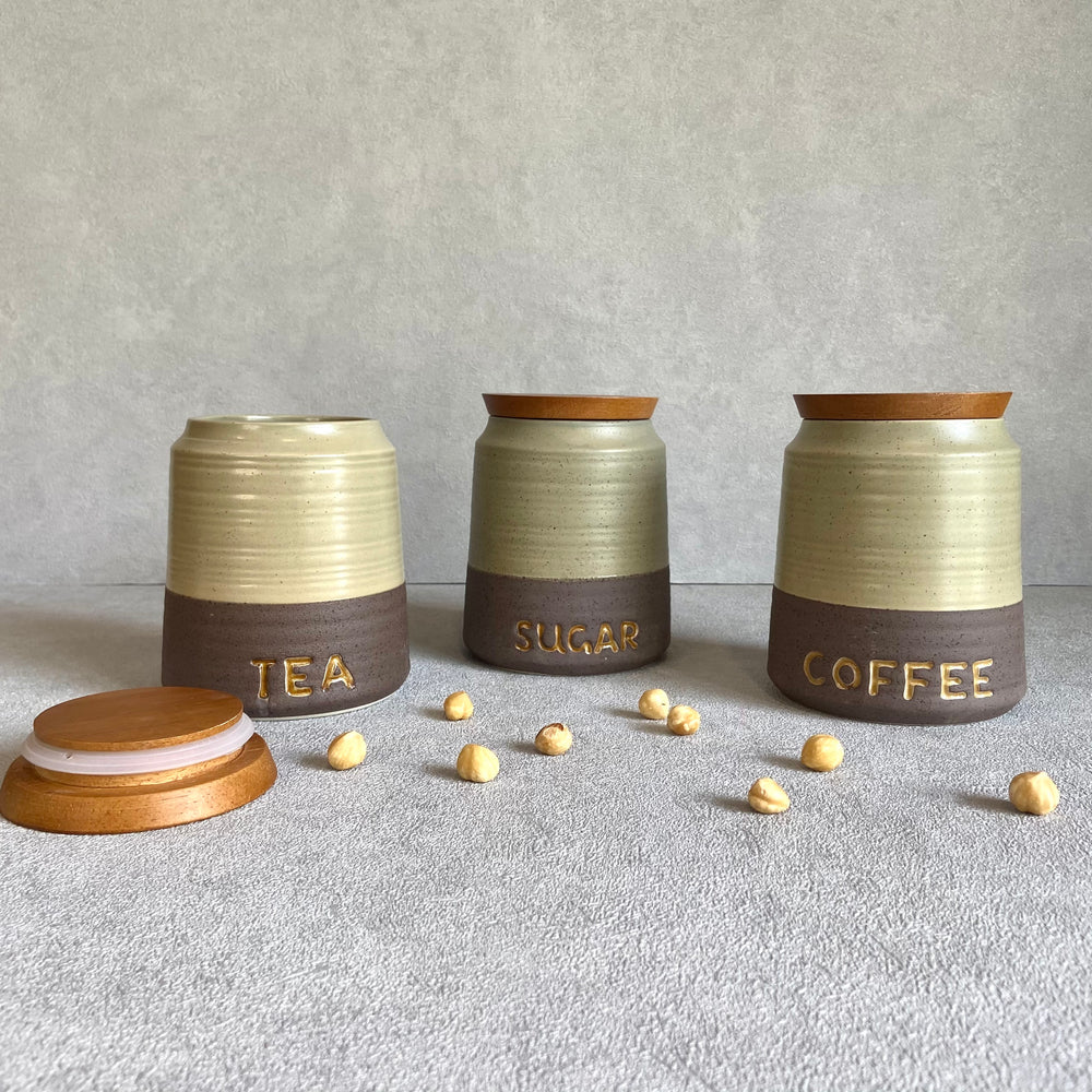 Sirocco 3-Piece Canister Set