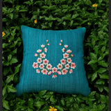Lucien Turquoise Cushion Cover