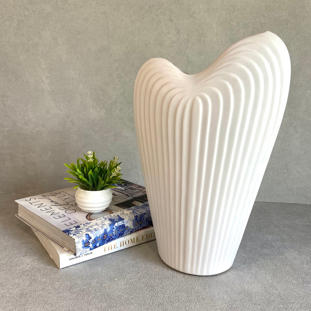 Camille Heart Shaped Vase