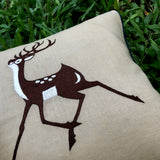 Celestial Reindeer Cushion Cover