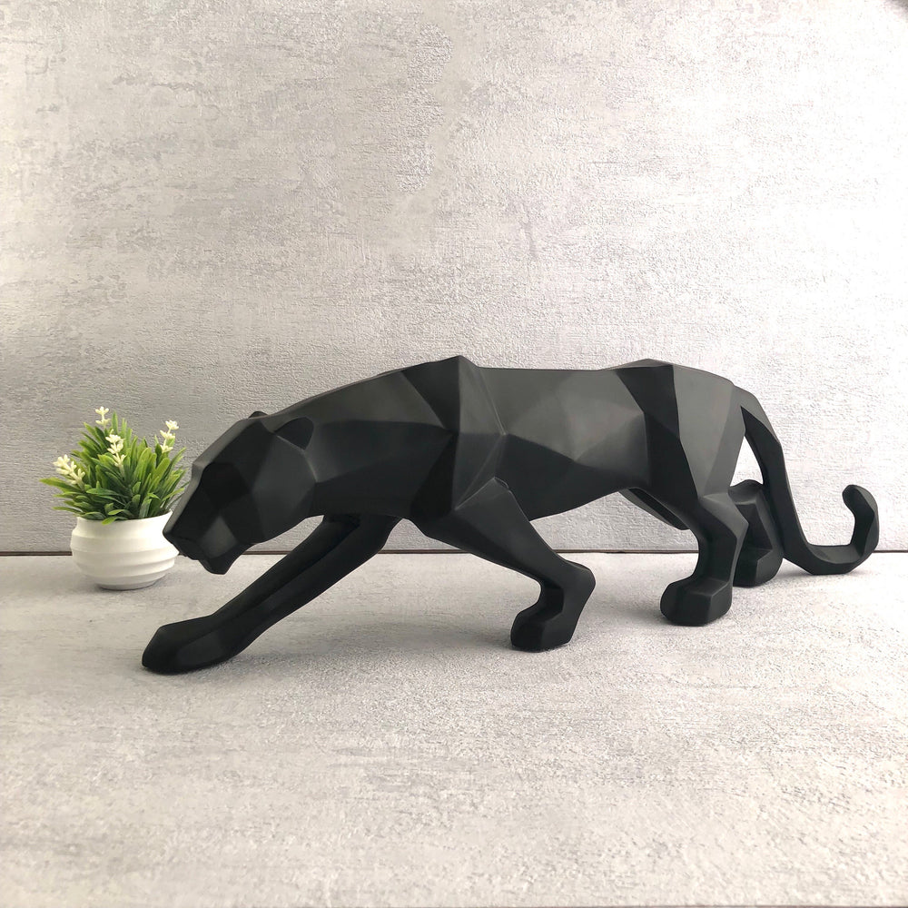 Diablo Black Panther Sculpture