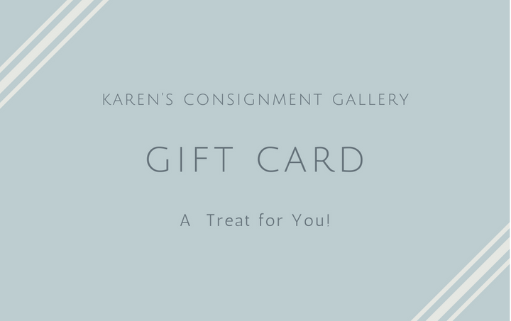 Karens Consignment Gallery Gift Card
