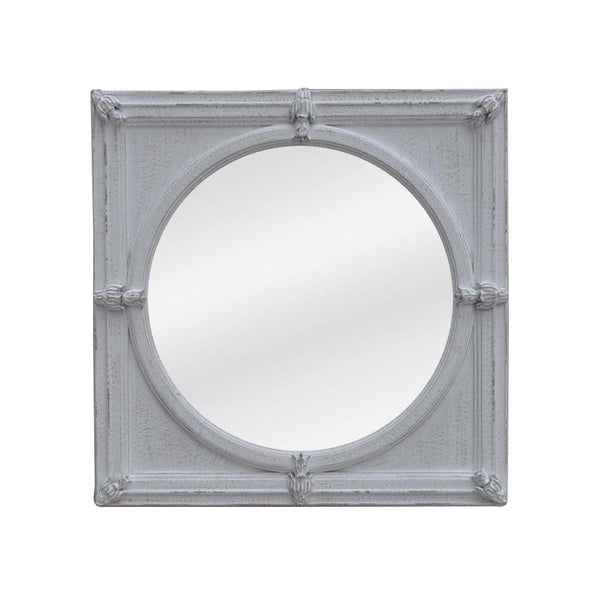 STONE GREY FRAME WITH FLAT MIRROR