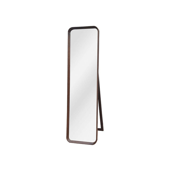 WAU BEECH FRAME WITH FLAT MIRROR