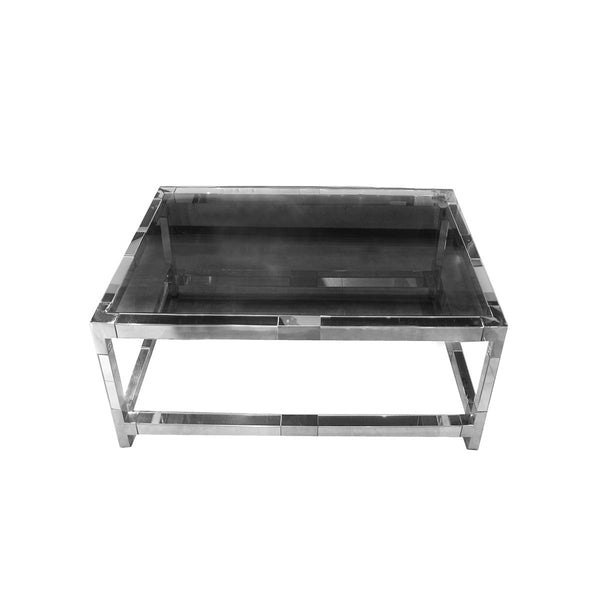 *****MIRROR SQUARE COFFEE TABLE (JS1789B)