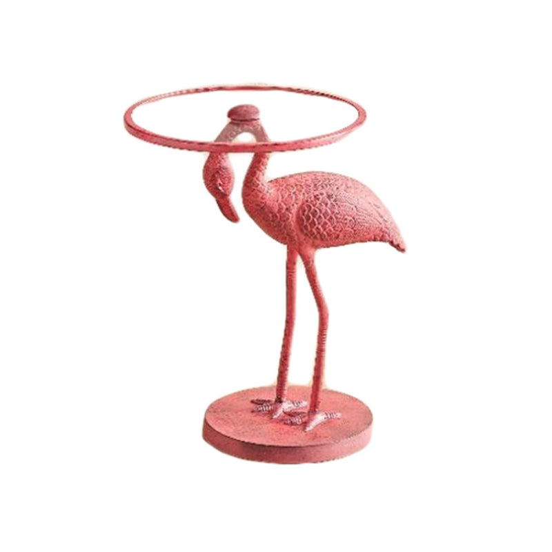FLAMINGO ACCENT TABLE PINK