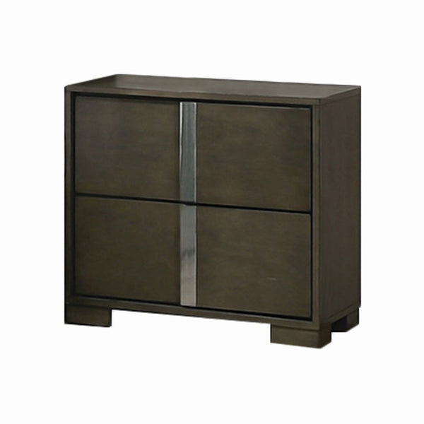 SLOAN NIGHT STAND WARM GREY