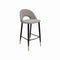 BAR CHAIR SEAT AND BACK NOBILIA FABRIC