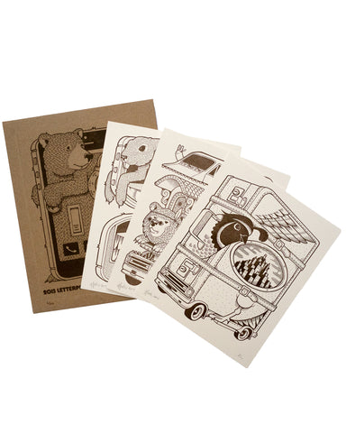 2015 Jeremy Fish Letterpress Print Set