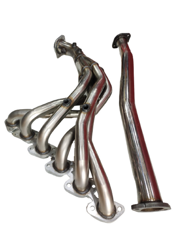 BJ 14614-NISSAN TB48 STAINLESS STEEL EXHAUST HEADER 5 SENSORS