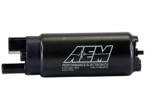 BJ 390004-AEM High Flow In-Tank Fuel Pump (PN 50-1000) flows 340 lph