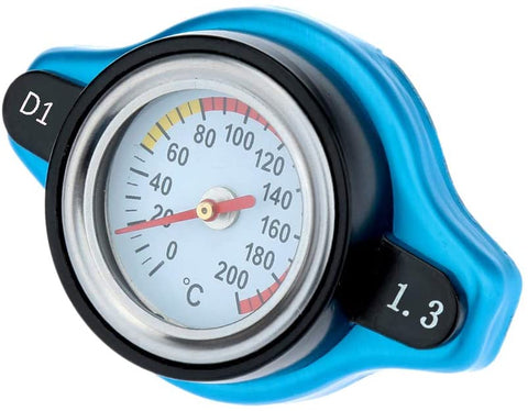 BJ 14300-Radiator Cap with Water Temp Gauge