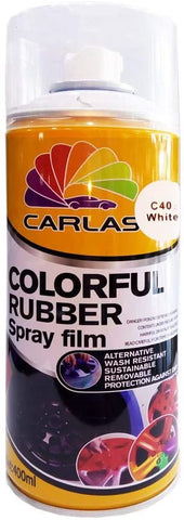 BJ 19013-Carlas Colourful Rubber Spray Film-400 ML-C 40 White