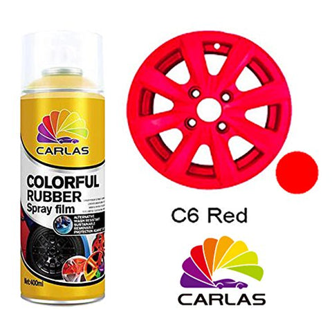 BJ 19013-Carlas Rubber Spray Paint Red