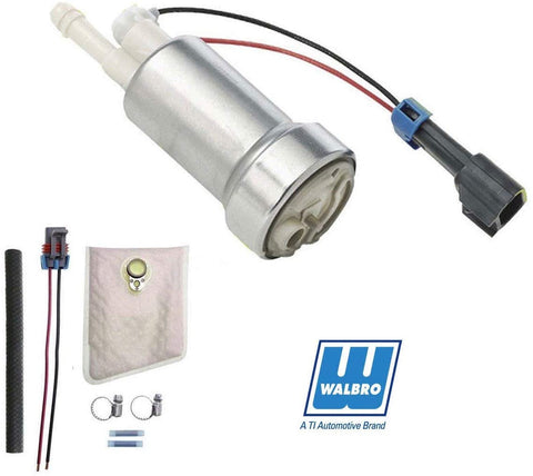 BJ 01256-Walbro 450LPH Fuel Pump High Pressure TIA485-2 F90000267 (Universal E85 Ethanol) TI Automotive