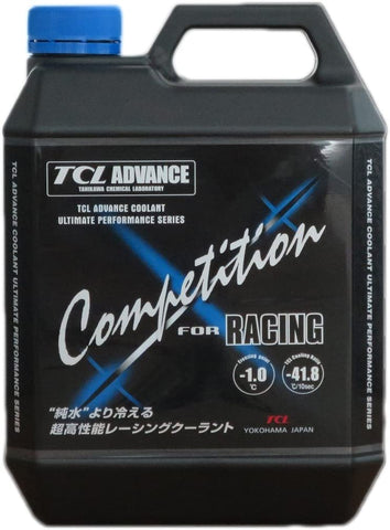 BJ 01314-TCL Advance Coolant for Racing Car 4 Litres