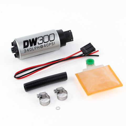 BJ 390019-DW300 series, 340lph in-tank fuel pump w /Universal Install Kit