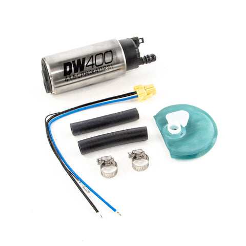 BJ 390040- DW400 series, 415lph in-tank fuel pump w /Universal Install Kit.