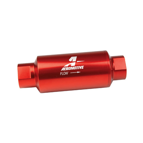 BJ 07128 -Aeromotive 10 Micron Fuel Filter with -10 AN Ports 12301