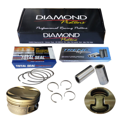 BJ 45034-Diamond Racing Pistons Toyota 2Jz - 87.00mm