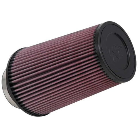 BJ 08006-RE-0920 K&N UNIVERSAL CLAMP-ON AIR FILTER 3.5""