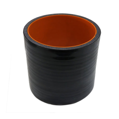 "BJ 15002-High Quality 5 layer - Straight Silicone Hose - 3.5""  -Universal"