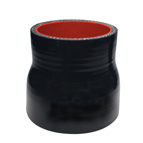 "BJ 15008-High Quality  5 layer - Straight  Silicone Reducer  Hose - 3.5"" By 4"" -Universal"