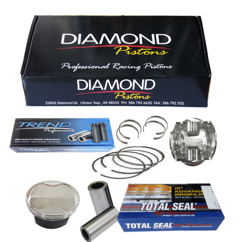 BJ45047 Diamond Racing Pistons Toyota Land Cruiser - 101 Dome Part Number : 936 UAE