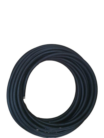 BJ 14550-HIGH QUALITY STAINLESS STEEL BRAIDED FLEXIBLE FUEL HOSE PIPE AN4