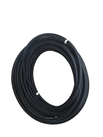 BJ 14553-HIGH QUALITY STAINLESS STEEL BRAIDED FLEXIBLE FUEL HOSE PIPE AN12