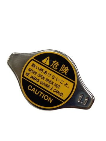 BJ 14618-RPE HIGH QUALITY OEM ALUMINUM COOLING RADIATOR CAP 1.1 BAR
