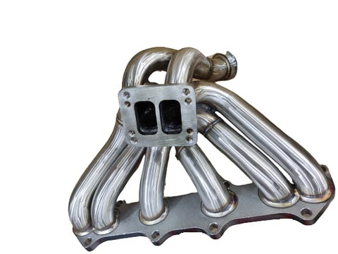 BJ 14745-Turbo Manifold for 1JZGTE 1JZ VVTi 3mm Steam Pipe T3 twin scroll