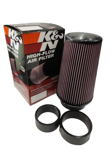 "BJ 14663-K&N UNIVERSAL AIR FILTER (3"",3.5"",4"")"