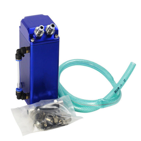 BJ 14167-Aluminium Blue Oil Catch Tank - 1L - Universal