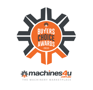 Arborwood Machinery awarded 2019 Buyers Choice by Machines4U