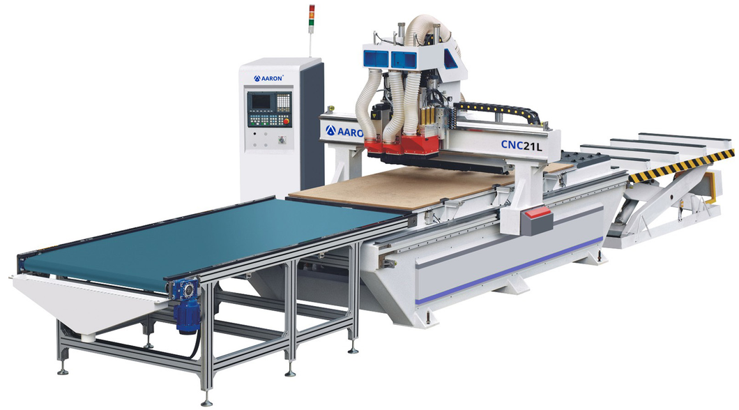 Aaron CNC21 - Entry-Level Dual Spindle CNC Machine with Drilling Unit