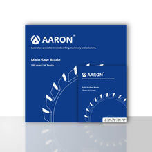 Load image into Gallery viewer, Aaron Main and Split Scriber Panel Saw Blade Bundle