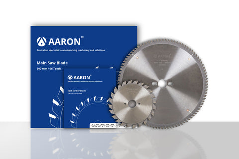 Panel Saw Blades - Main Blade and Split Scriber Blade (Free Delivery)